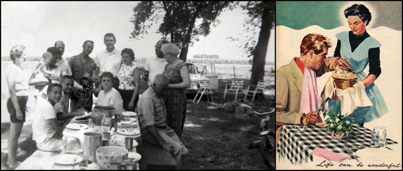 a Heartland picnic