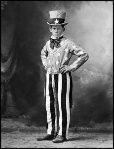 youthful Uncle Sam