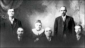 Luick family portrait